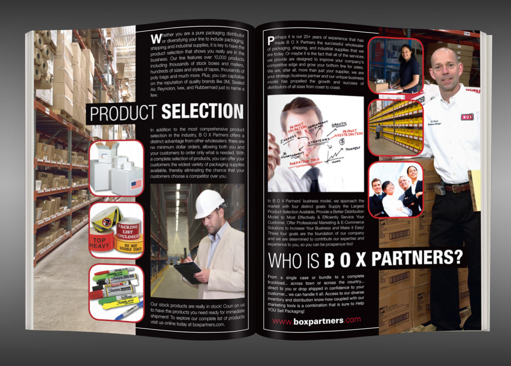B O X Partners Brochure - Interior Pages