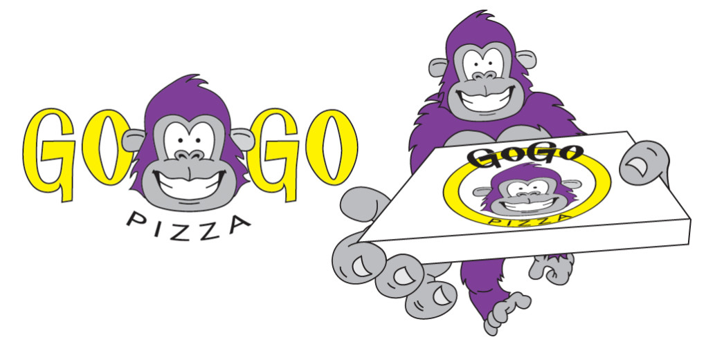 GoGo Pizza Logos