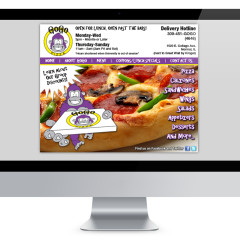 GoGo Pizza Website