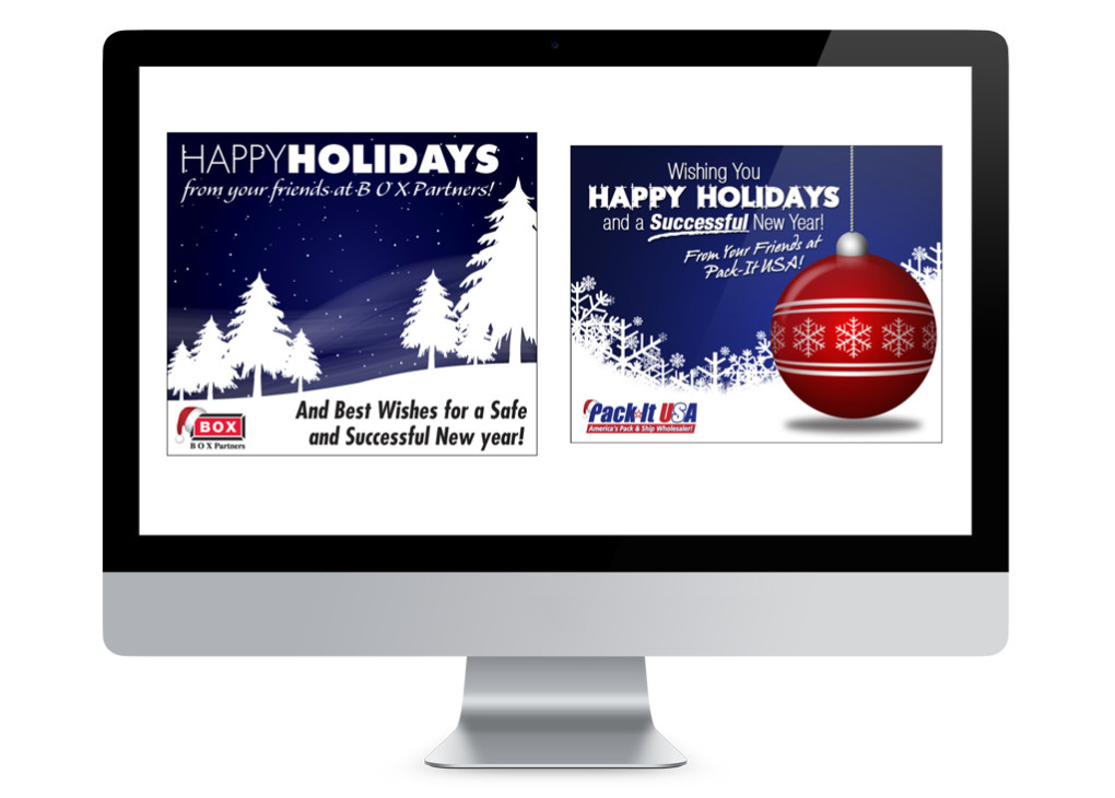 Holiday Season E-Mail Blasts