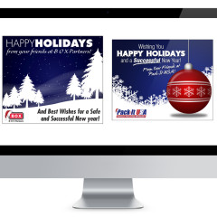 Holiday Season E-Mail Blasts