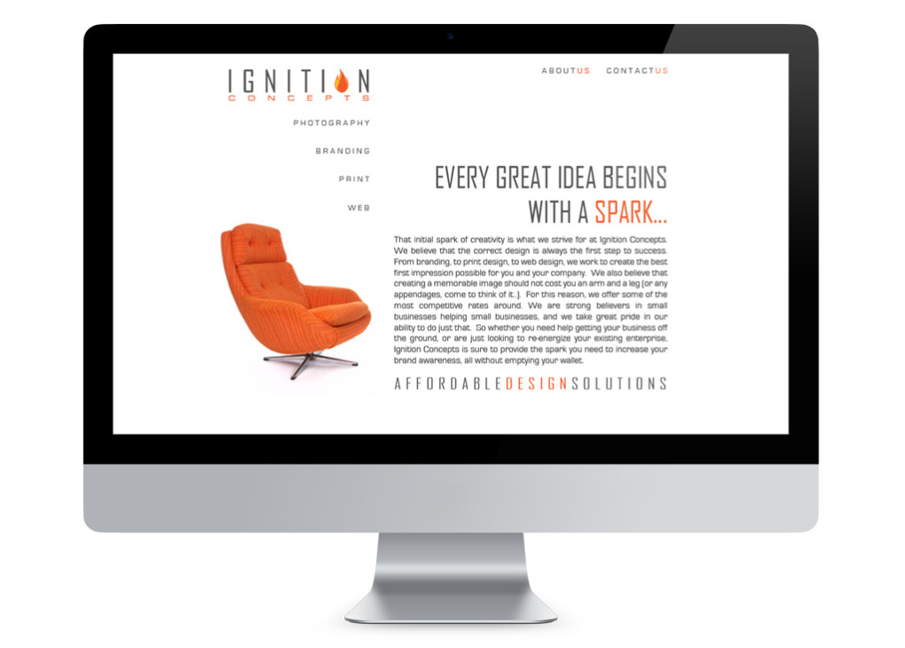 Ignition Concepts Website