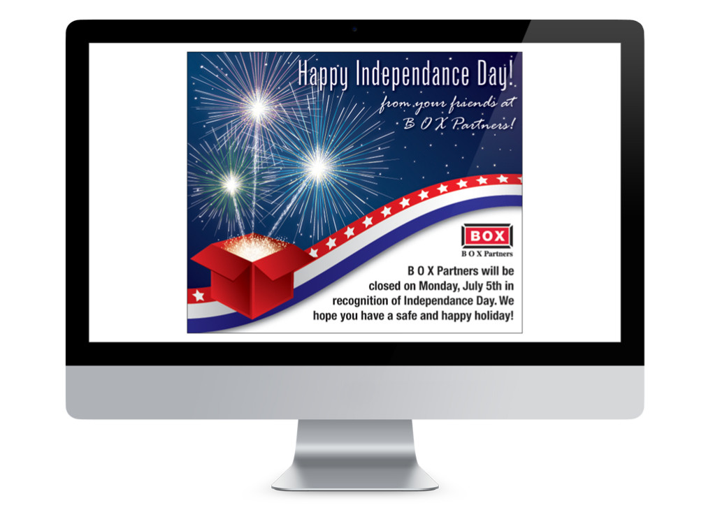 4th of July E-Mail Blast