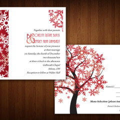 Wedding Invitation & Response Card
