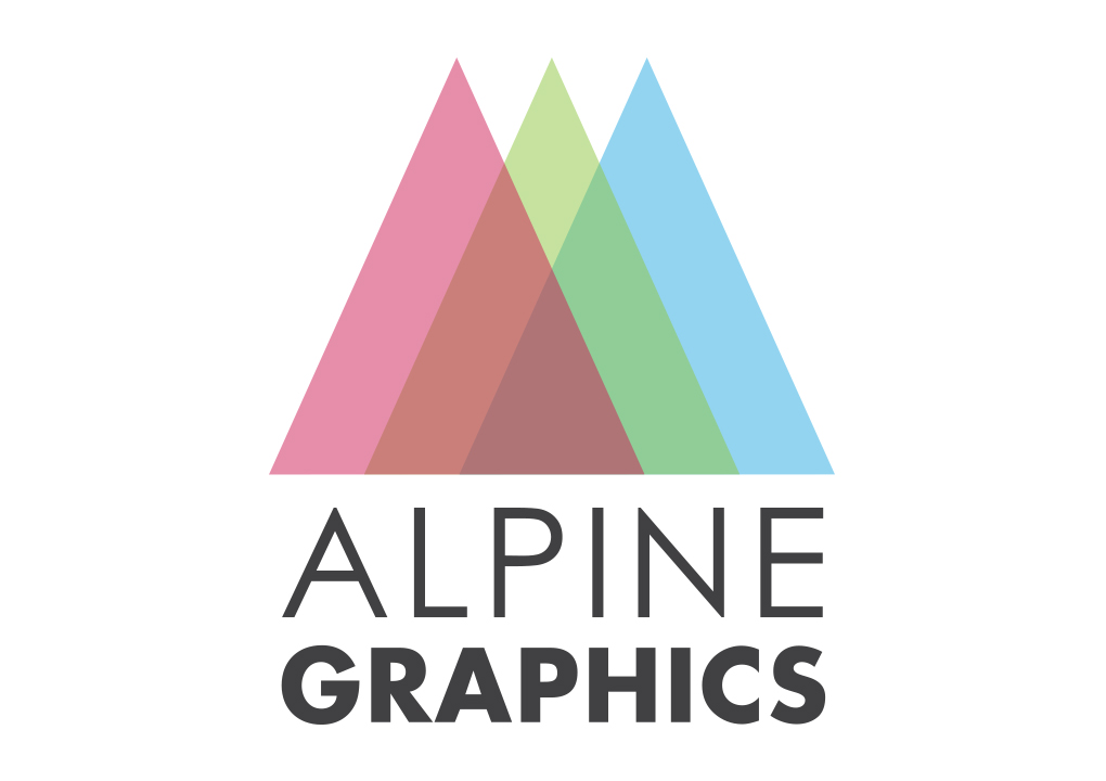 Alpine Graphics Logo Concept
