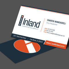 Inland Residential Business Card