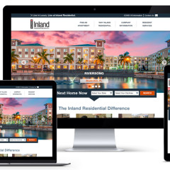 Inland Residential Corporate Website